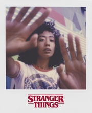 Polaroid Stranger Things photo