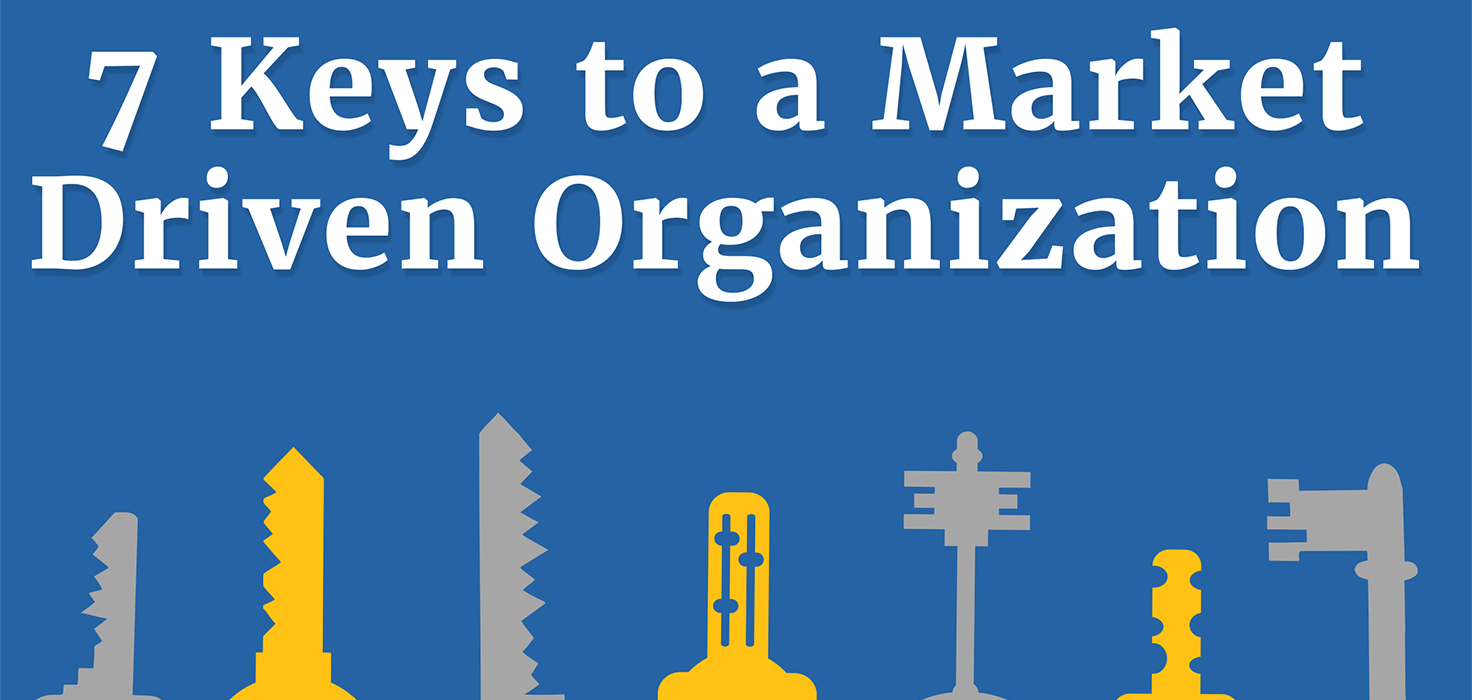7 KEYS TO MARKET DRIVEN ORGANIZATION & HOW TO KNOW IF YOURS IS ONE