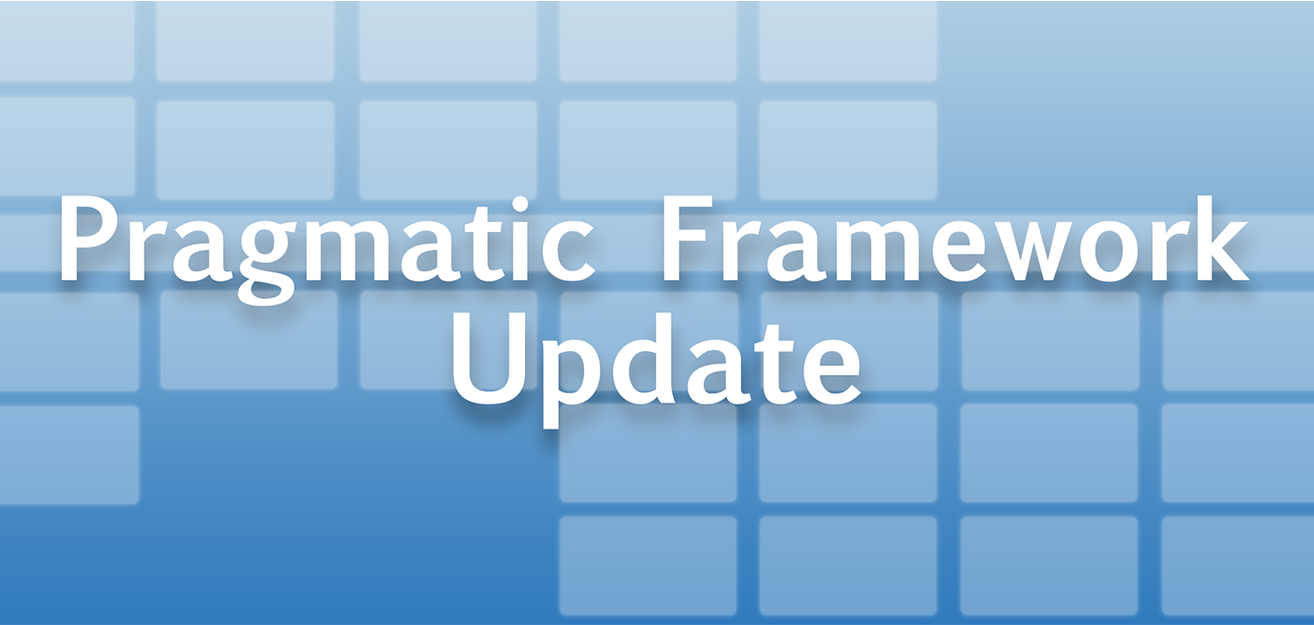 Pragmatic Institute Framework Update