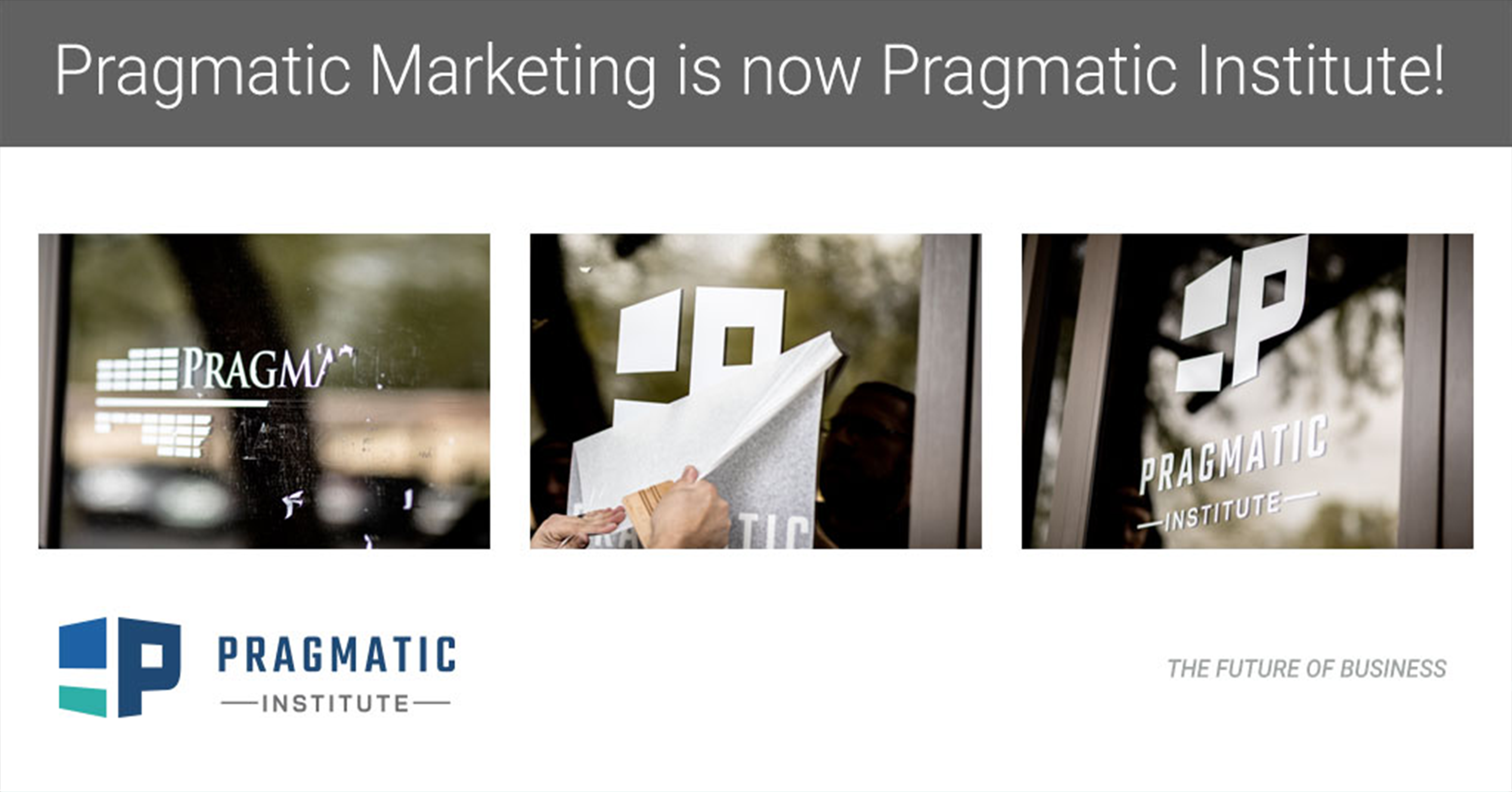 Introducing Pragmatic Institute