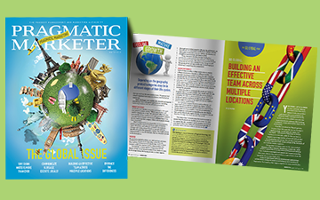 Prepare for Global Growth in the New Issue of Pragmatic Marketer