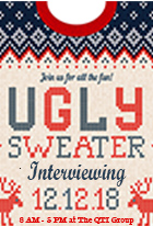 Ugly Sweater Interviewing