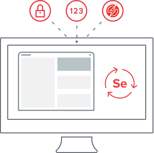 Secure selenium tests on Sauce Labs in the cloud