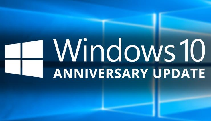 Win 10 Anniversary Update