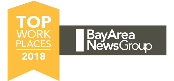 2018 Top Workplace by Bay Area News Group