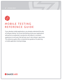 Mobile Testing Reference Guide