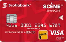 SCENE Debit Card