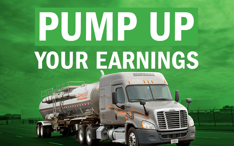 2018 Schneider Tanker Driver Pay Increase