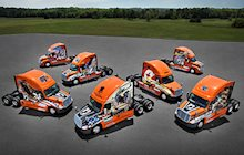 7 Ride of Pride trucks