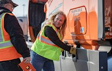 Placing an emphasis on safety and providing a harassment-free work environment are just two reasons why Schneider is the right fit for female truck drivers.