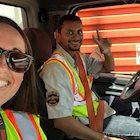 Schneider driver and office associate