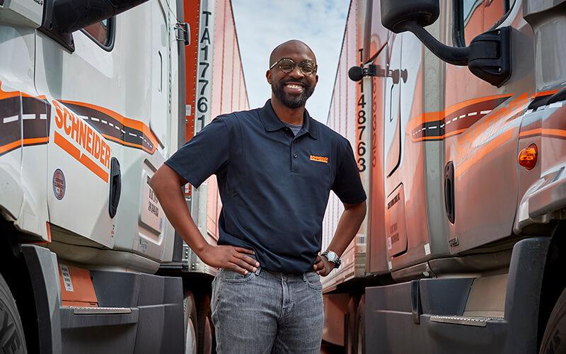 Careers in Transportation at Schneider