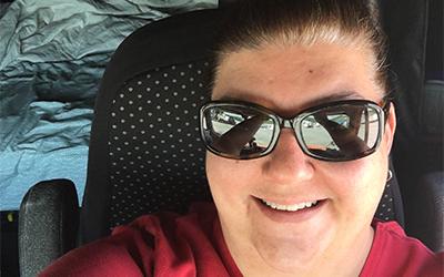 Christi Walton Truck Driver