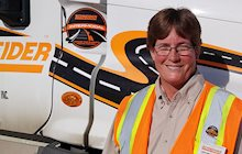 Christine Bosgraaf, Schneider INtermodal Women's Outreach Program