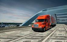 Schneider truck money bridge