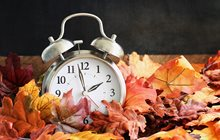 Truck driver Daylight Saving Time fall back clock
