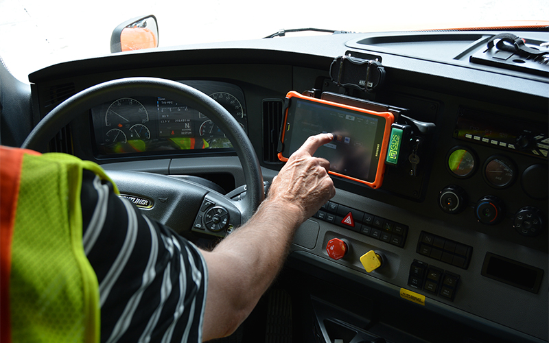 Schneider Driver Experience Initiative Tablet Deployment