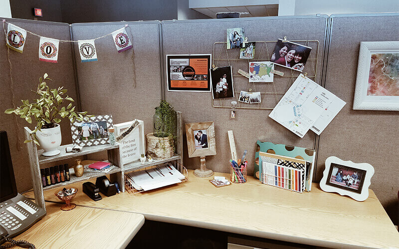 Ideas for decorating your work office