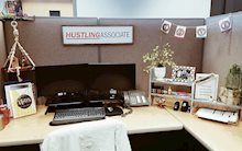 ideas for decorating your office at work