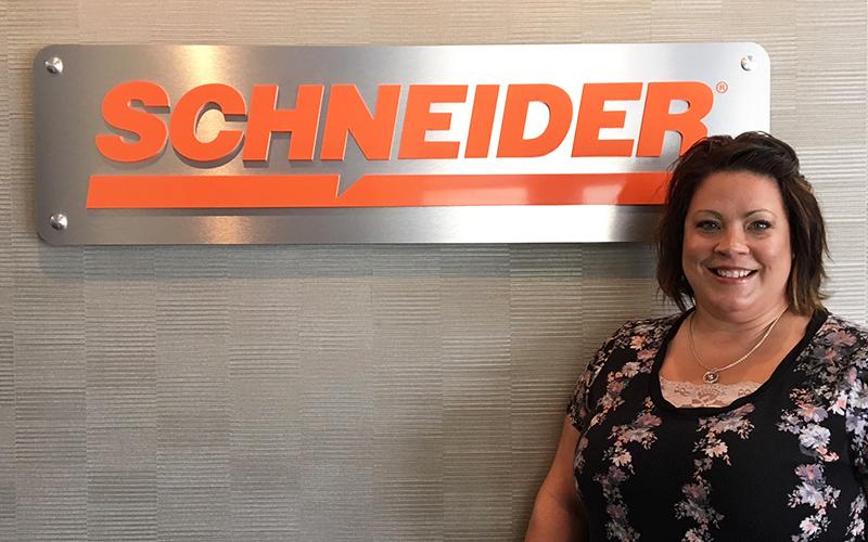 Schneider Driver Recruiting Assistant Jolene