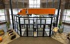 Schneider Replica Tractor-Trailer at Corporate