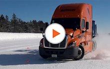 Schneider semi-truck