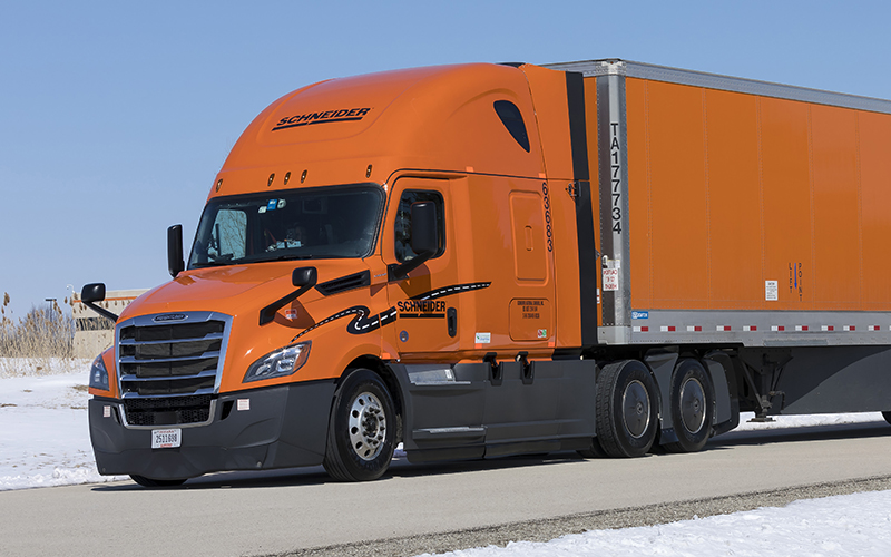 Freightliner Cascadia P4