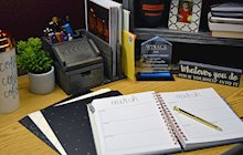Keeping a clean desk is one of the key ways to be more productive at work.
