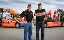 2015 Ride of Pride drivers, Jay and Darrell