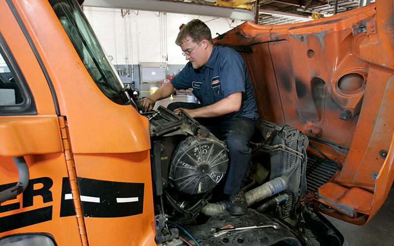 Life of a diesel mechanic