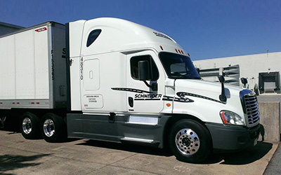 Schneider Dedicated Truck