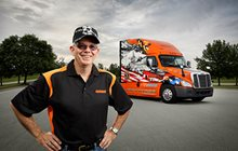 2015 Ride of Pride truck and driver
