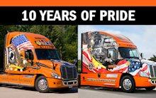 Schneider Ride of Pride Trucks