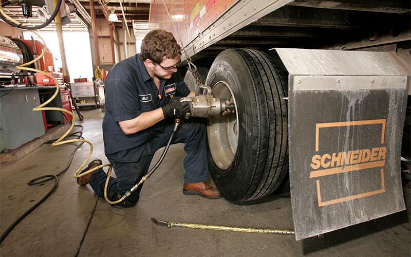 Schneider tire program