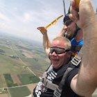 Schneider Veterans Skydive to Support HOOAH