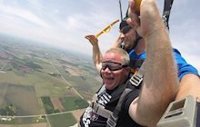 Schneider Veterans Skydive to Support HOOAH