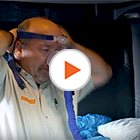 Schneider Driver with CPap Machine