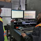 Two diesel mechanics use technology to find a solution to a problem.