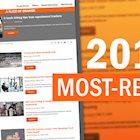 top blog posts list screenshot
