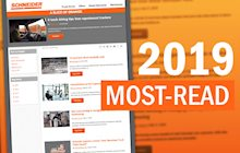 top blog posts list screenshot