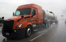 Safety tips for truck driving in heavy rain