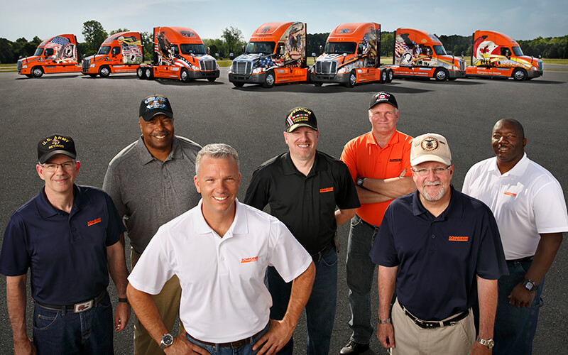 Truck Driving Jobs For Veterans