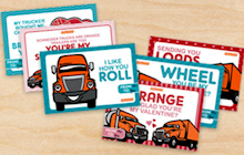 Trucker Valentines Day Ecards
