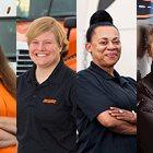 Schneider Women Truck Drivers