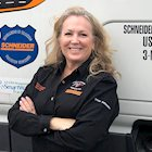 Schneider driver and training engineer Kellylynn McLaughlin is the new Women in Trucking and Schneider Driver Ambassador.