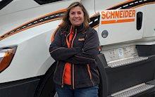 Influential Women in Trucking Industry: Kris Maczollek