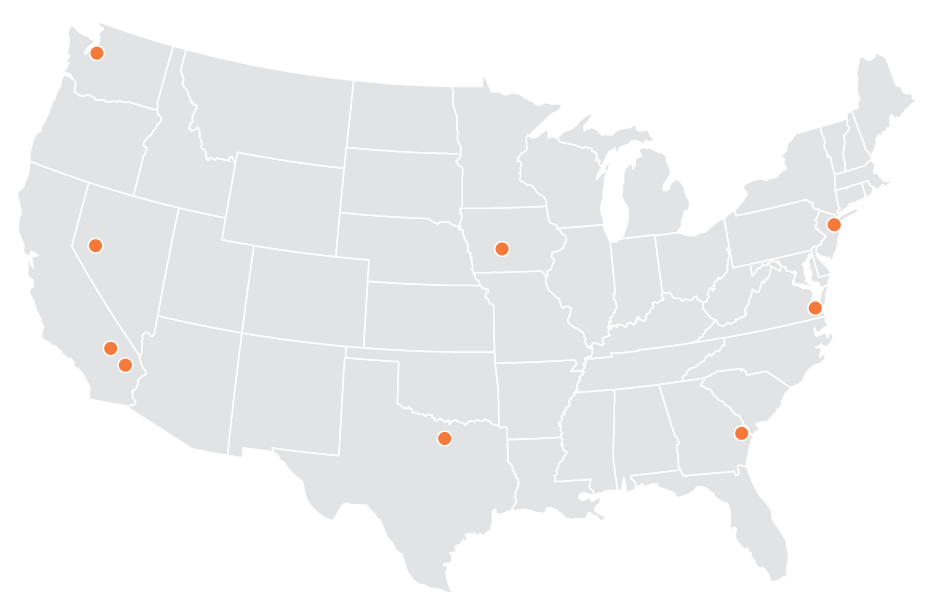 Schneider Warehouse Locations