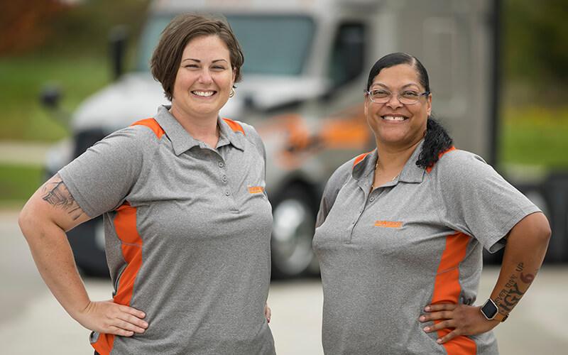 Schneider Team Truck Drivers