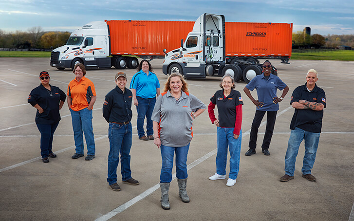 2019 Featured Female Truck Drivers