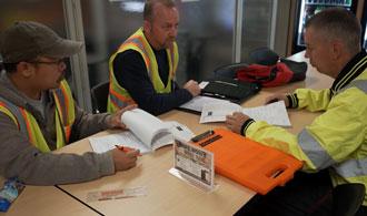Schneider experienced orientation for truck drivers